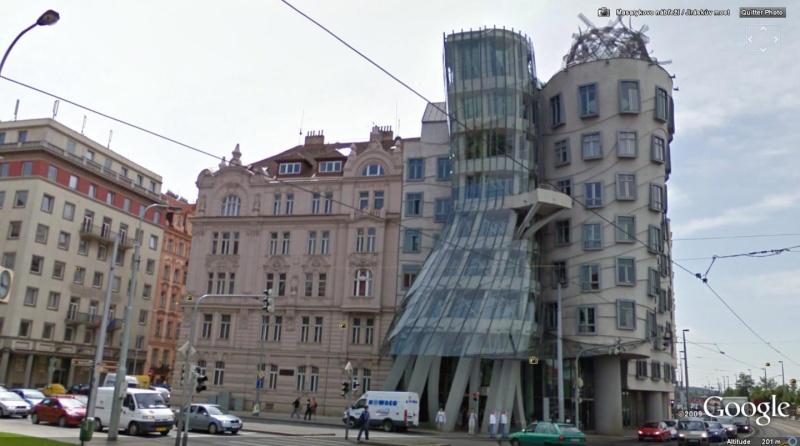 Dancing House (la maison dansante), Prague, République Tchèque (Frank Gehry) La_mai10