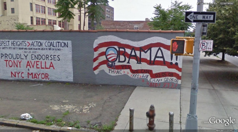 STREET VIEW : les fresques murales - MONDE (hors France) - Page 2 Obama110