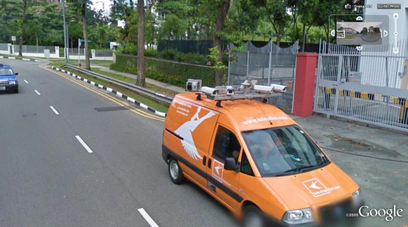 un concurrent à Street view? voiture teleatlas, singapour Rrr10