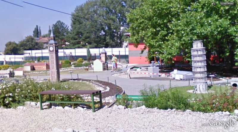 STREET VIEW : parc monuments miniature, Ostrava, République Tchèque Tour_p10