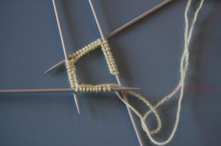 Hướng dẫn đan tất (vớ) chân Dantat12