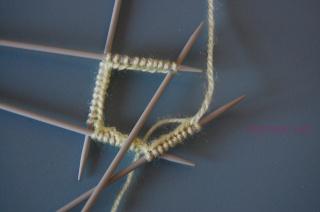 Hướng dẫn đan tất (vớ) chân Dantat13