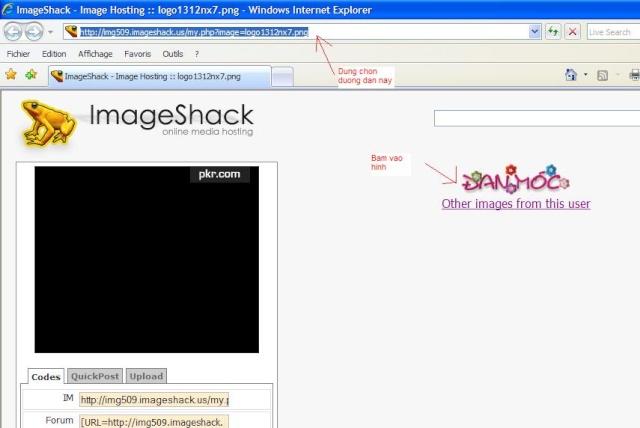 Cách chèn hình ảnh vào bài viết Imgsha10