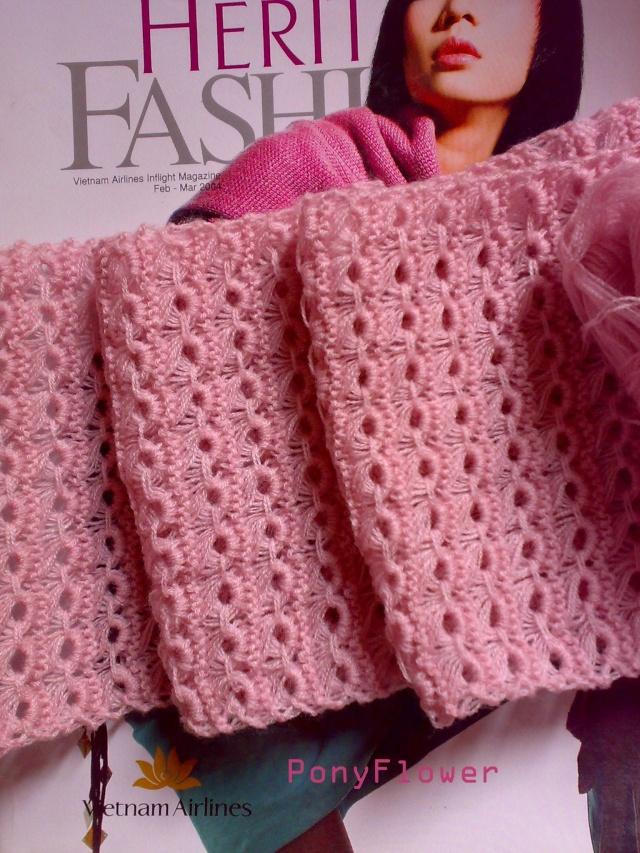 Đan khăn mẫu hoa cúc Khanho10