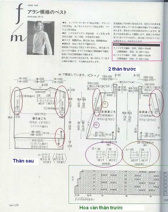 Hỏi mẫu đan áo M003 M003110