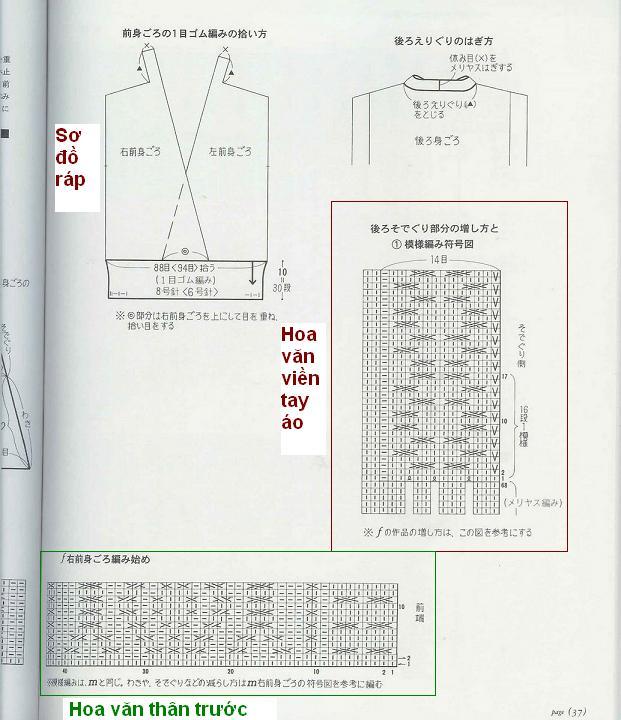 Hỏi mẫu đan áo M003 M003210