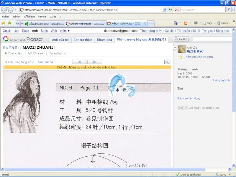 Cách lấy hình rõ nét trên Picasa Picasa10