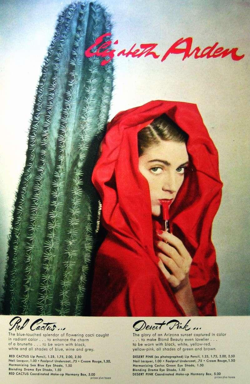 Carmen Dell'Orefiice Elizabeth Arden cosmetic ad 1948 Carmen12
