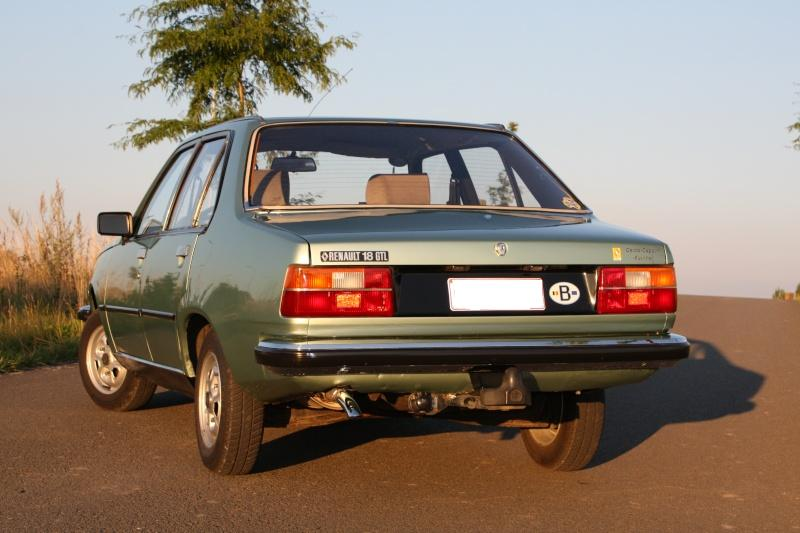 La Renault 18 GTL de mon frère 13juli13