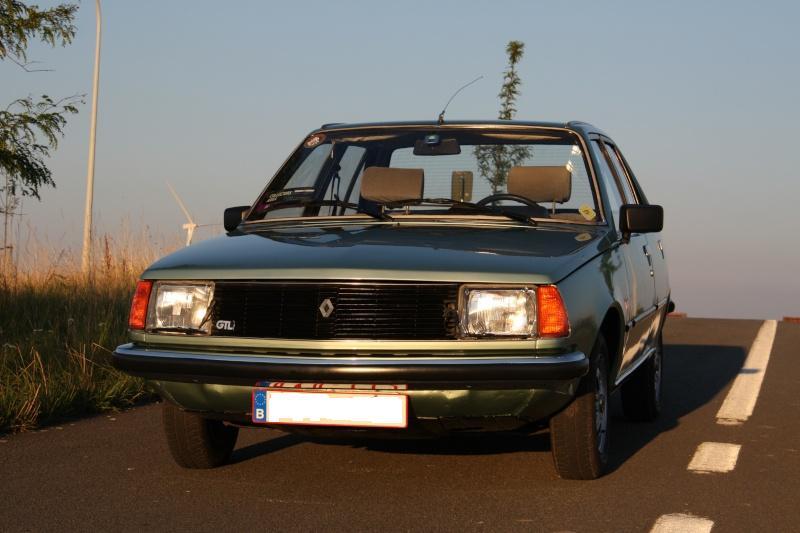 La Renault 18 GTL de mon frère 13juli14