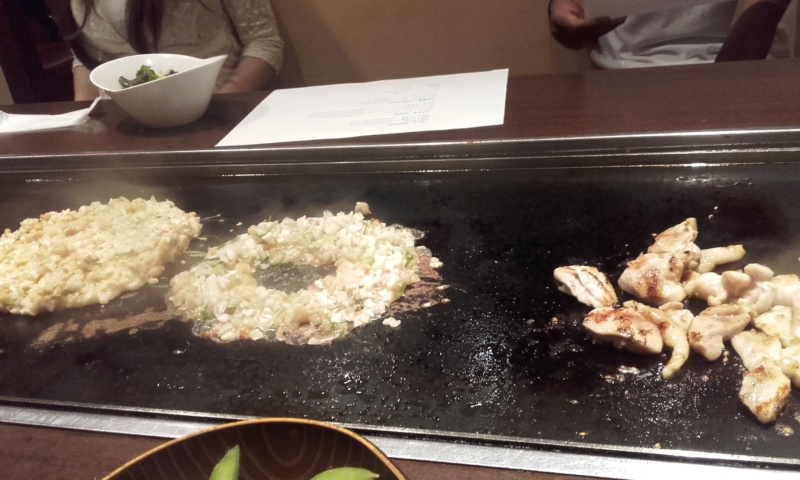 cuisson okonomiyaki