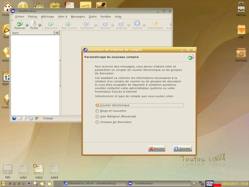 Toutou Linux 4.3.1 Courri10