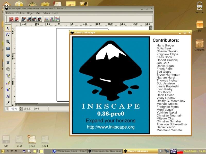 Toutou Linux 4.3.1 Inksca10