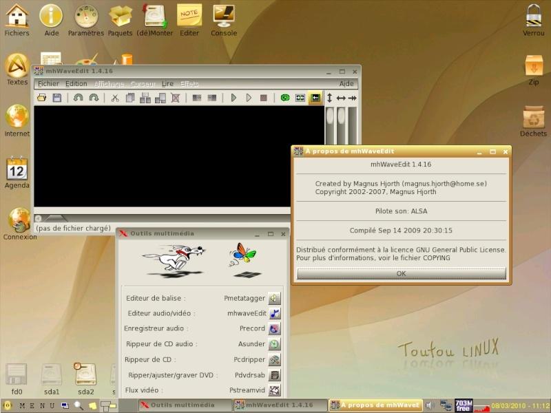 Toutou Linux 4.3.1 Mhwave10