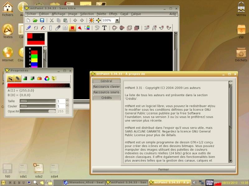 Toutou Linux 4.3.1 Mtpain10