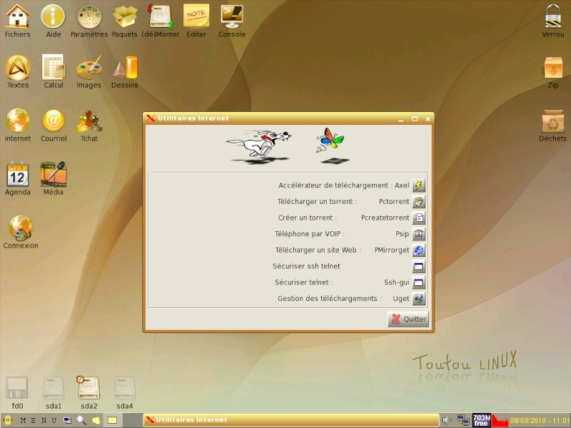 Toutou Linux 4.3.1 Utilit10