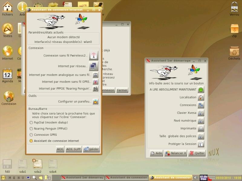 Toutou Linux 4.3.1 Wifi110