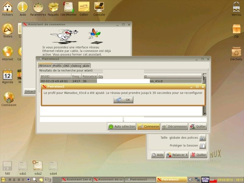Toutou Linux 4.3.1 Wifi310