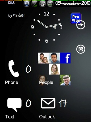 (Thème SPB Mobile Shell): Un air de Windows Phone7(Source xda) Screen57