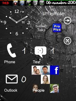 (Thème SPB Mobile Shell): Un air de Windows Phone7(Source xda) Screen61