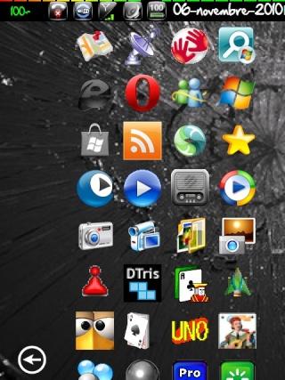 (Thème SPB Mobile Shell): Un air de Windows Phone7(Source xda) Screen64