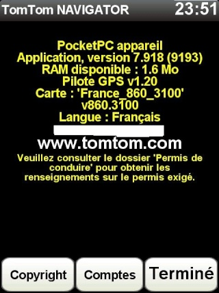 Dernière version TomTom 7.918(9193)+nouvelle carte France 860.3100+Radars Novembre 2010 - Page 5 Screen83