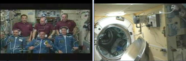 ISS : Amarrage de Soyouz TMA-18 le 4 avril 2010 - Page 3 Screen19