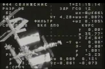 ISS : Amarrage de Progress M-05M le 1er mai 2010 - Page 2 Screen55