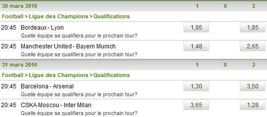Pronostics Ligue des Champions (Archives) Quart_12