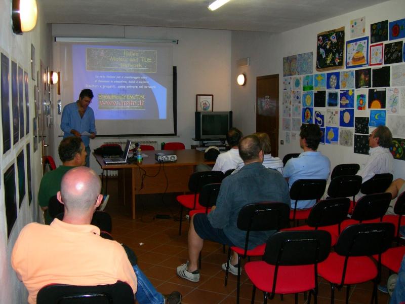 5 giugno - conferenza sull'IMTN  a Cielostellato 2010 Dscn7210