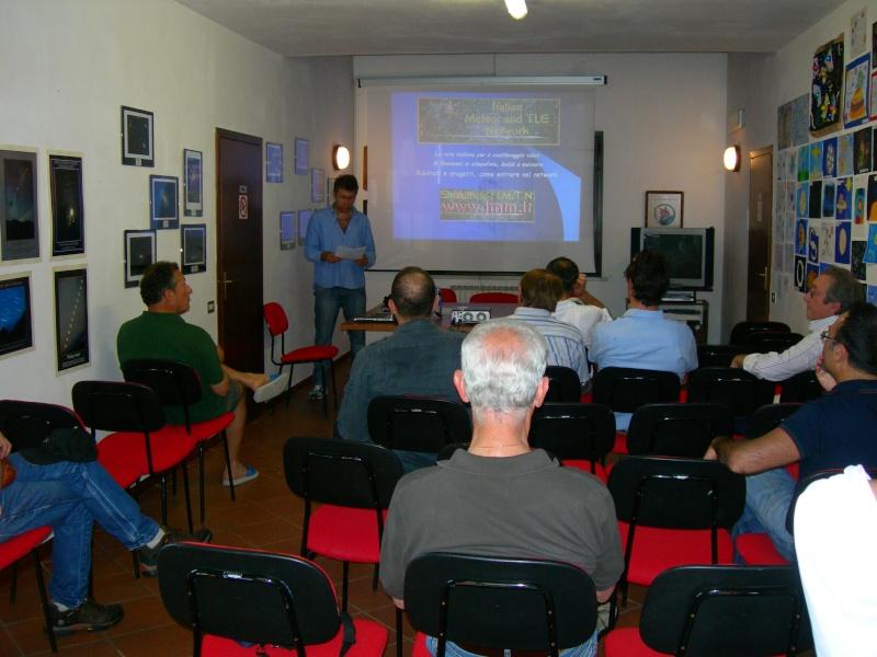 5 giugno - conferenza sull'IMTN  a Cielostellato 2010 Dscn7211