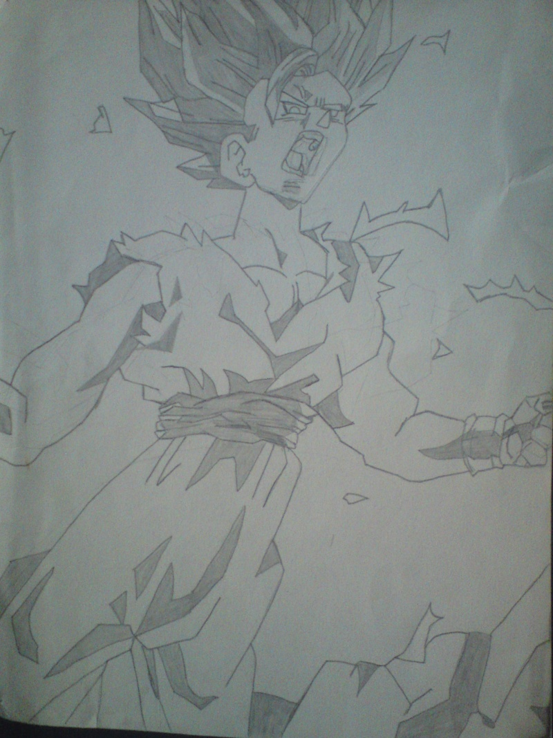 Drawing Dark Akuma Dsc00114
