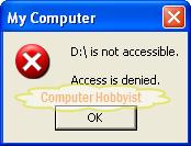 هل تريد حجب ملفاتك عن المستخدمين الآخرين بدون برامج ؟ 0310