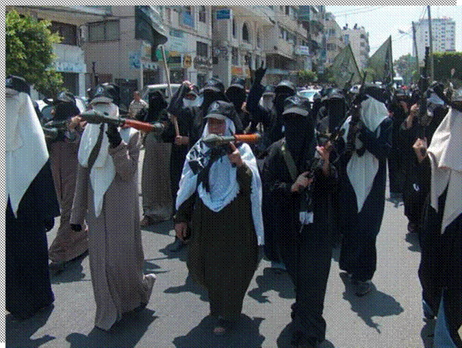 صور مجاهدات غزة 211