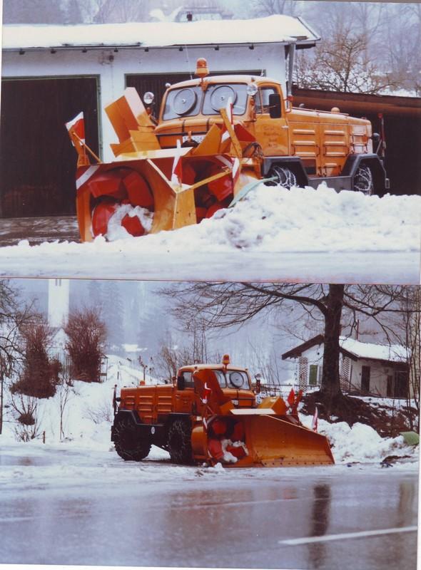 photos unimog chasse neige Chasse11