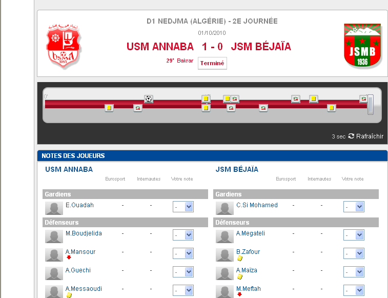 [10ème Journée L1 ]  JSM Béjaia 5-2 MC El Eulma [Après match] - Page 2 Attent11