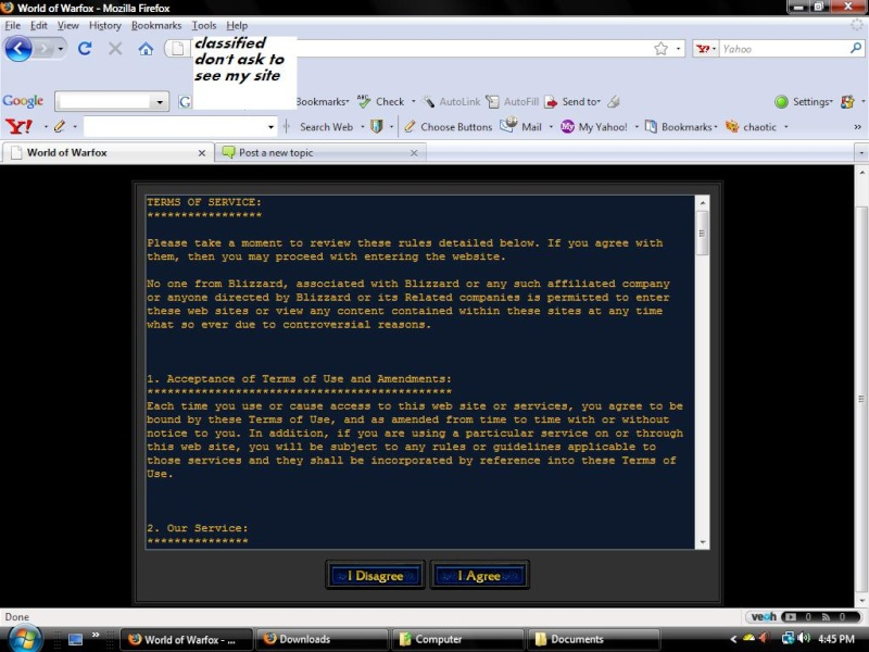 terms of service page? Tos_pa10