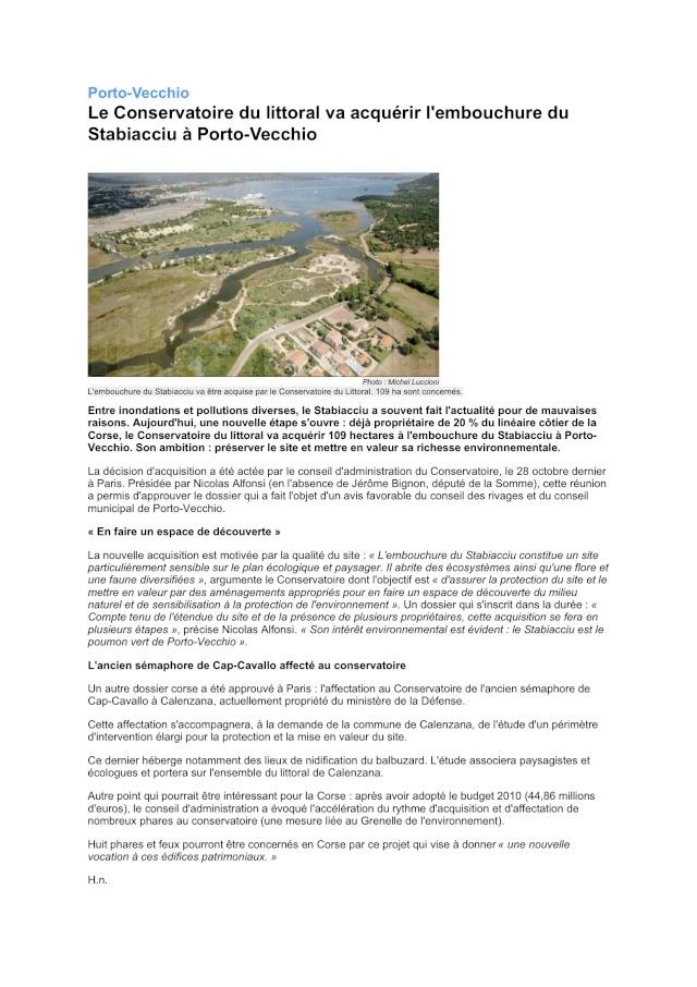 SÉMAPHORE - CAVALLO (HAUTE CORSE) Articl11