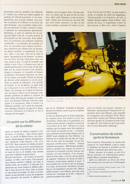 SÉMAPHORE - LE TOULINGUET  - PRESQU'ÎLE DE CROZON (FINISTÈRE) Met_ma12