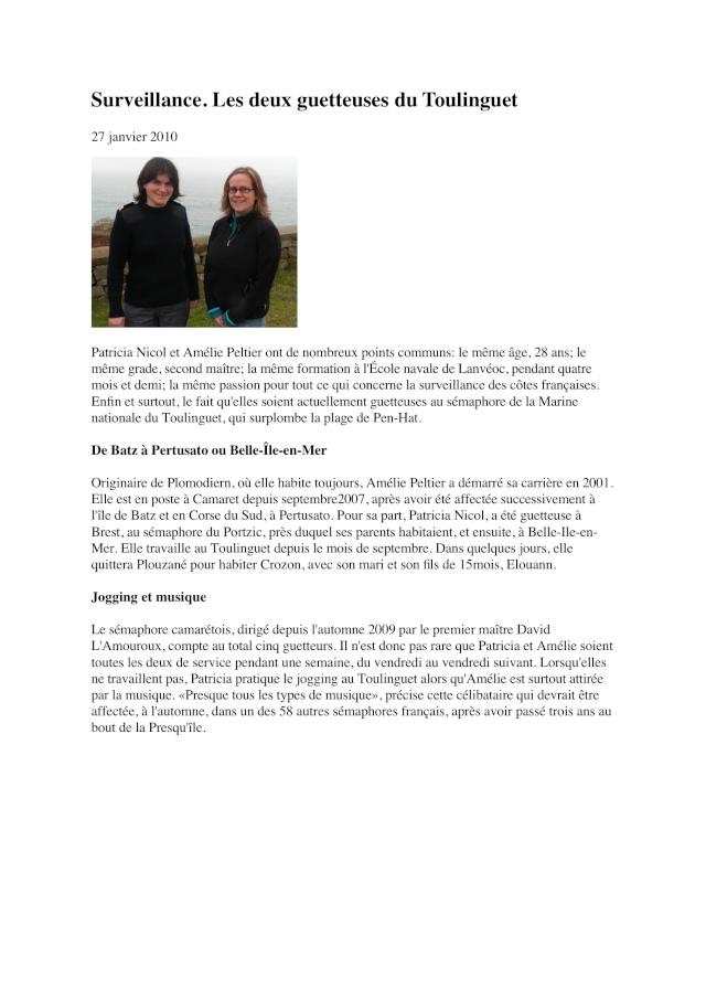 SÉMAPHORE - LE TOULINGUET  - PRESQU'ÎLE DE CROZON (FINISTÈRE) Toulin10