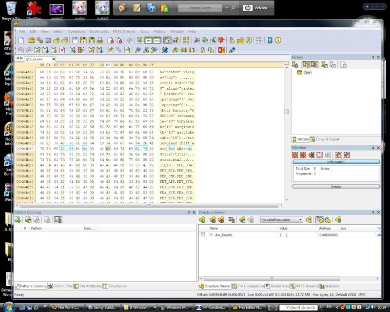 EXE application file Hexedi10