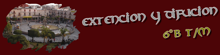 Extencion y Difucion Cultural