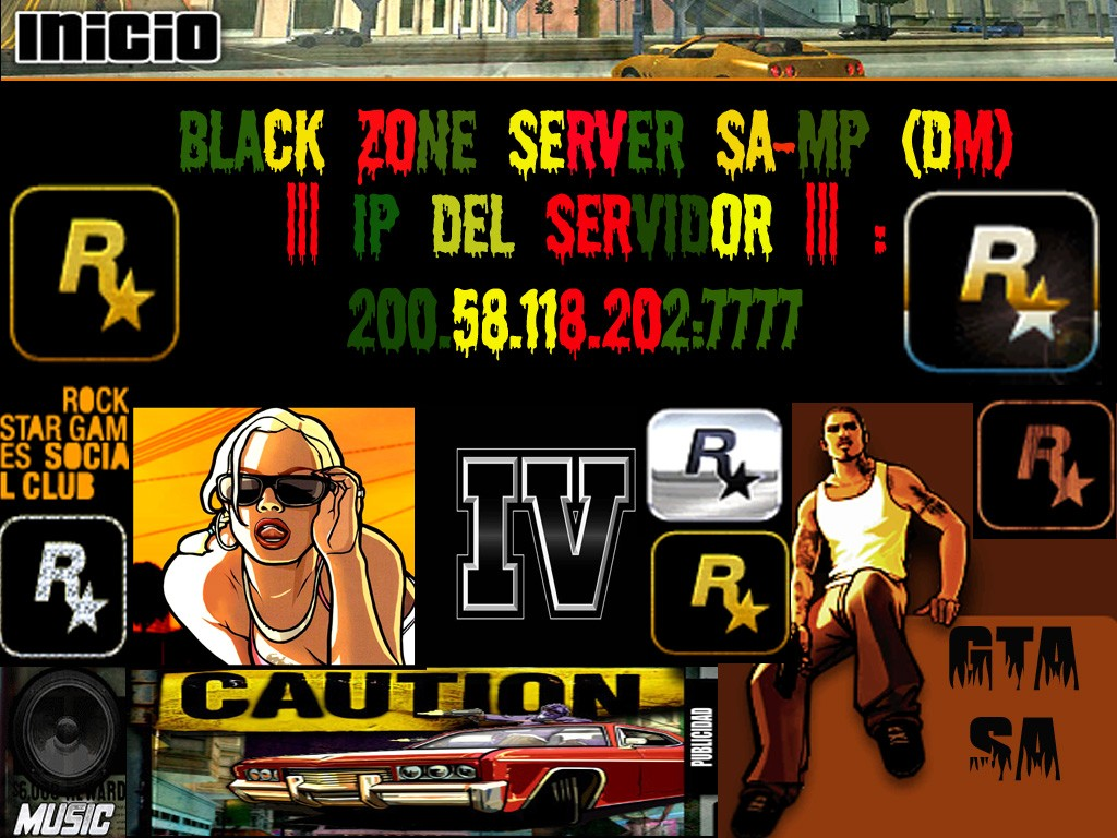 .:::Black Zone Server Samp:::.