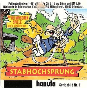 Duplo & hanuta, autocollants 2000 111