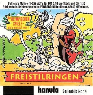Duplo & hanuta, autocollants 2000 1410
