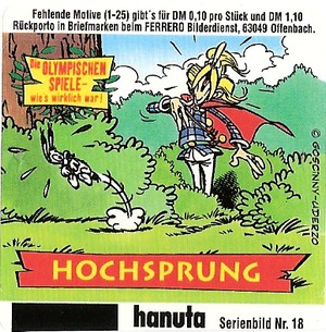 Duplo & hanuta, autocollants 2000 1810