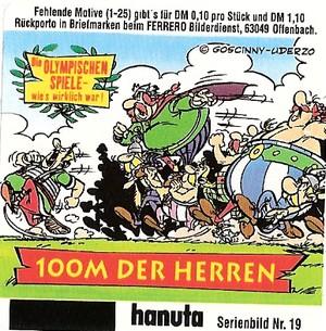 Duplo & hanuta, autocollants 2000 1910