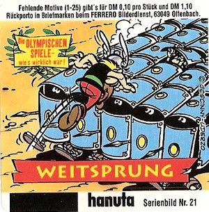 Duplo & hanuta, autocollants 2000 2110