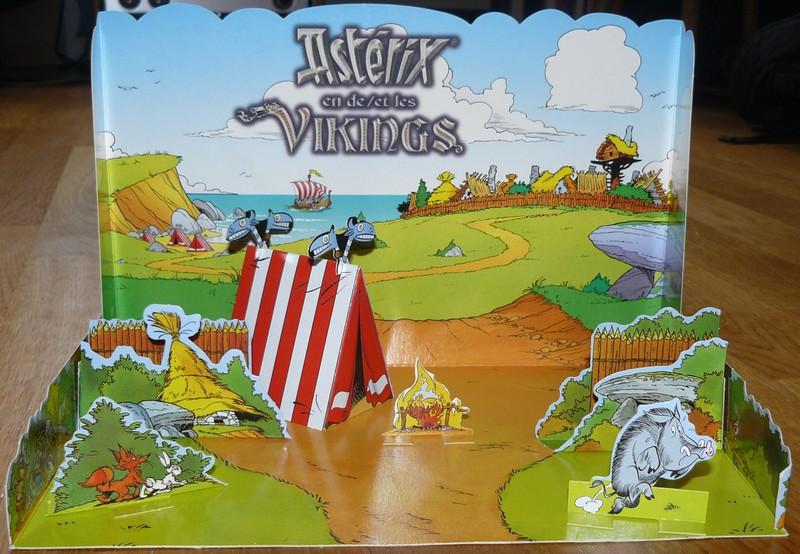 """Astérix et les vikings"" diorama kinder belge  2006 Dioram10"