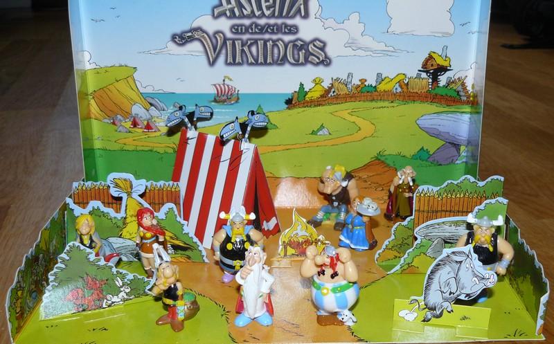 """Astérix et les vikings"" diorama kinder belge  2006 Dioram11"